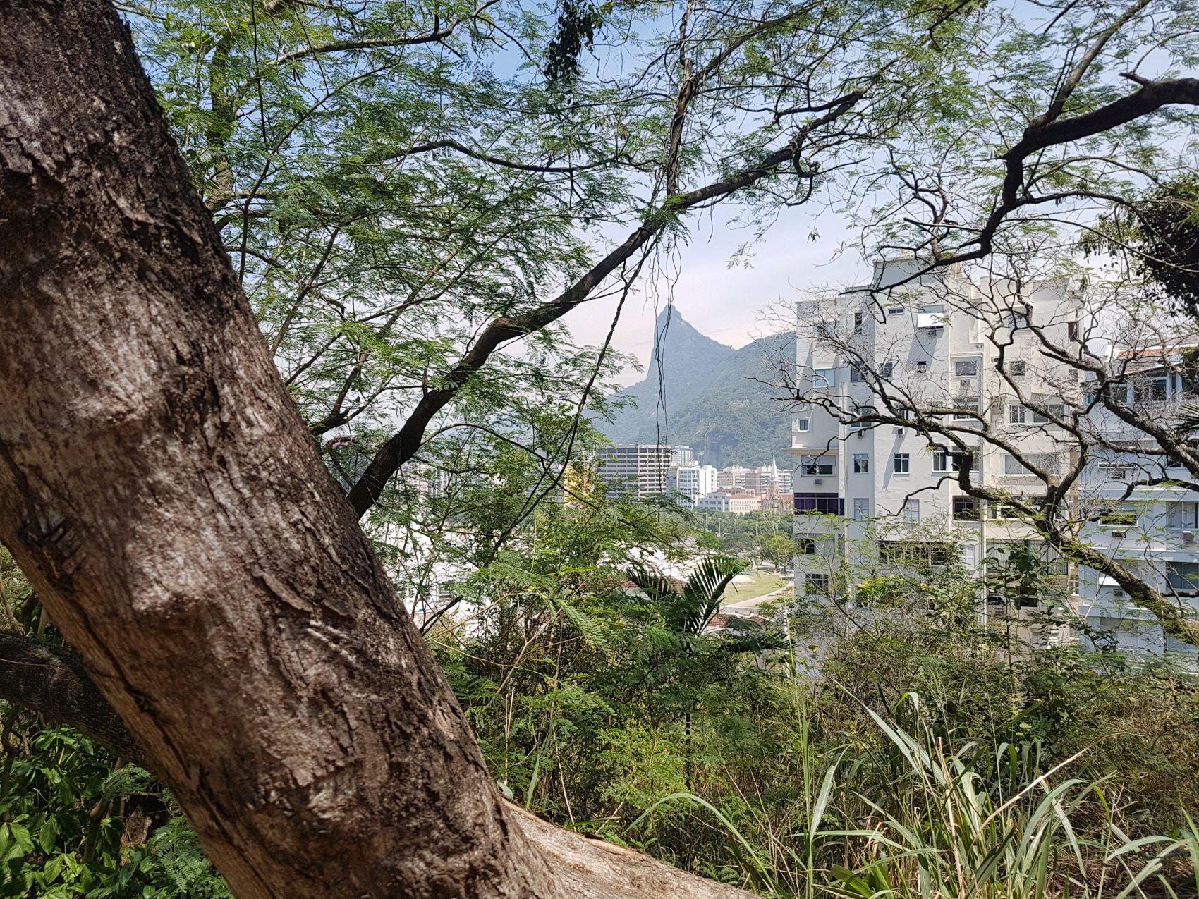 Vista do Morro da Viúva; cercado por 'cartões postais' (Foto Oscar Valporto)
