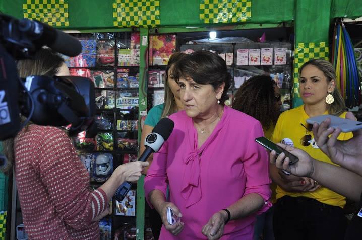 Eliana Pedrosa, do Pros, é forte candidata na disputa ao governo do Distrito Federal. Foto reprodução do Facebook