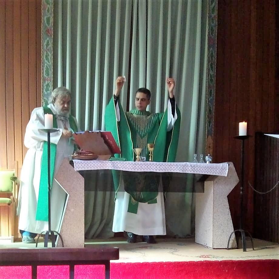 Padre anglicano Luiz Coelho: defesa da peça em que Jesus é interpretado por uma homossexual. Foto: Acervo pessoal