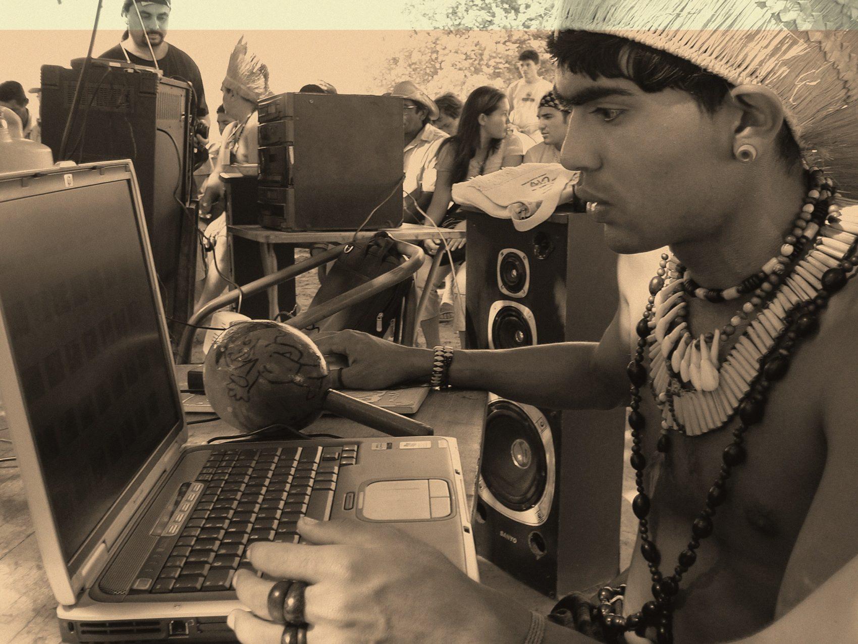 Weibe Tapeba, coordenador da Coordenação das Organizações e Povos Indígenas do Ceará/COPICE (Foto: Joceny Pinheiro/divulgação)