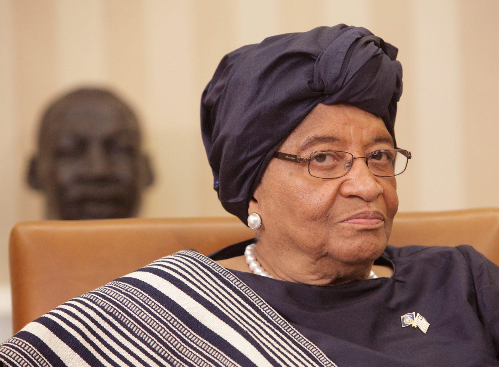 Ellen Johnson Sirleaf: história singular, em uma sociedade machista e patriarcal. Foto: Chris Kleponis/