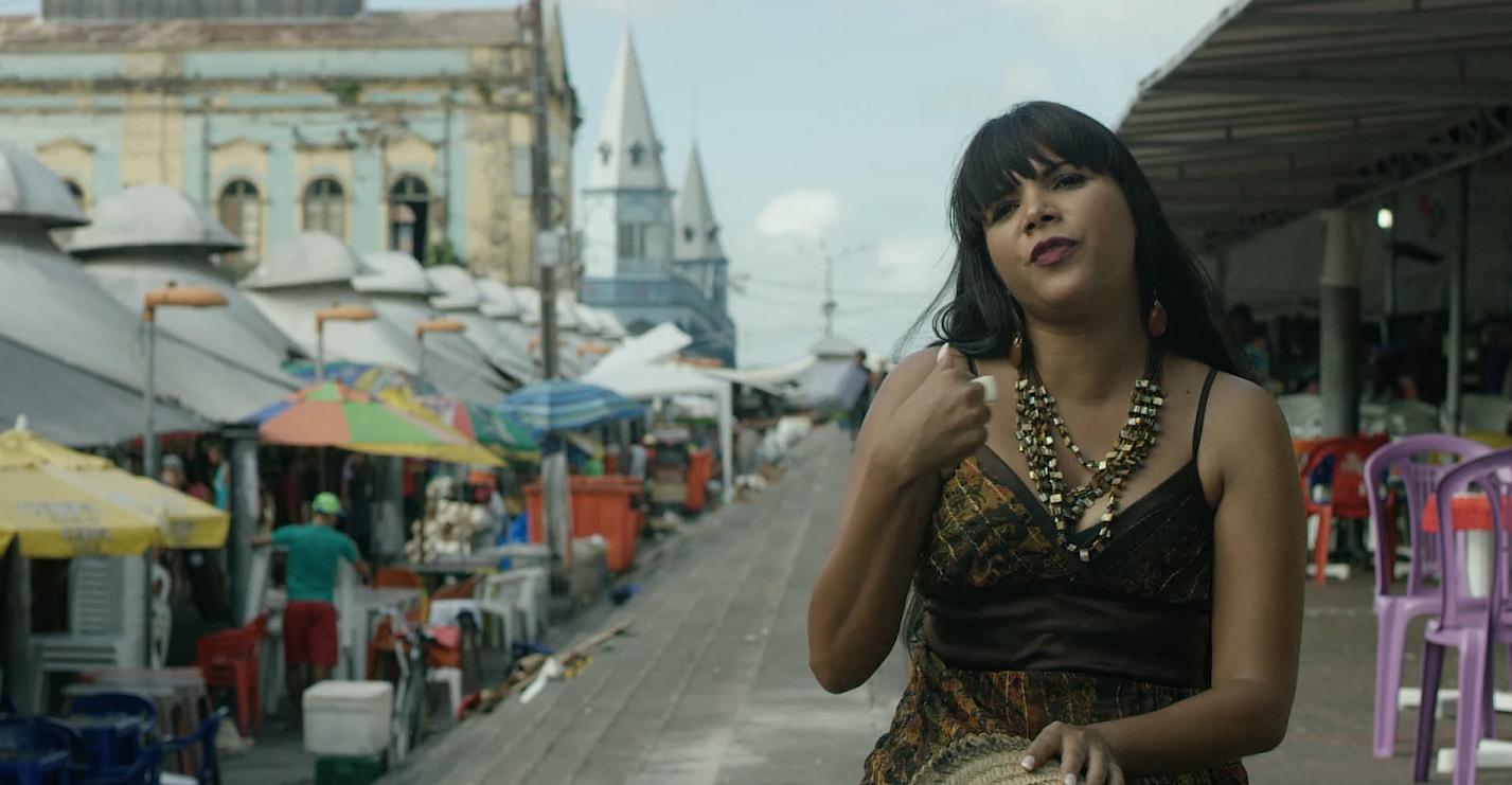 """Gina Lobrista é um dos destaques do filme """"Amazônia Groove"""". Foto Divulgação"""