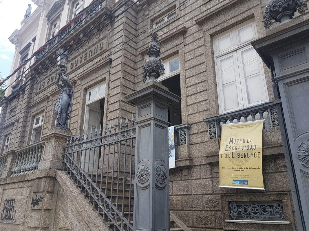 Centro Cultural José Bonifácio - um falso museu da escravidão e da liberdade. Foto Oscar Valporto