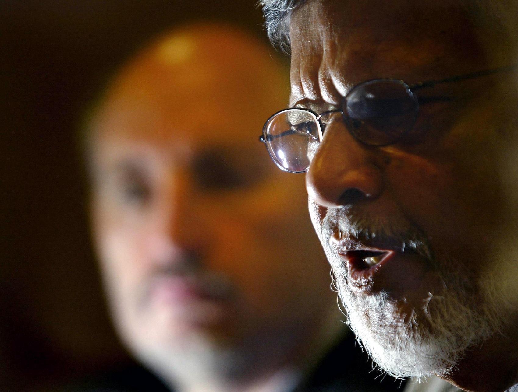 "Arun Gandhi: ""não sabemos tirar proveito positivo da raiva"" / Foto: AFP PHOTO / MIGUEL RIOPA"