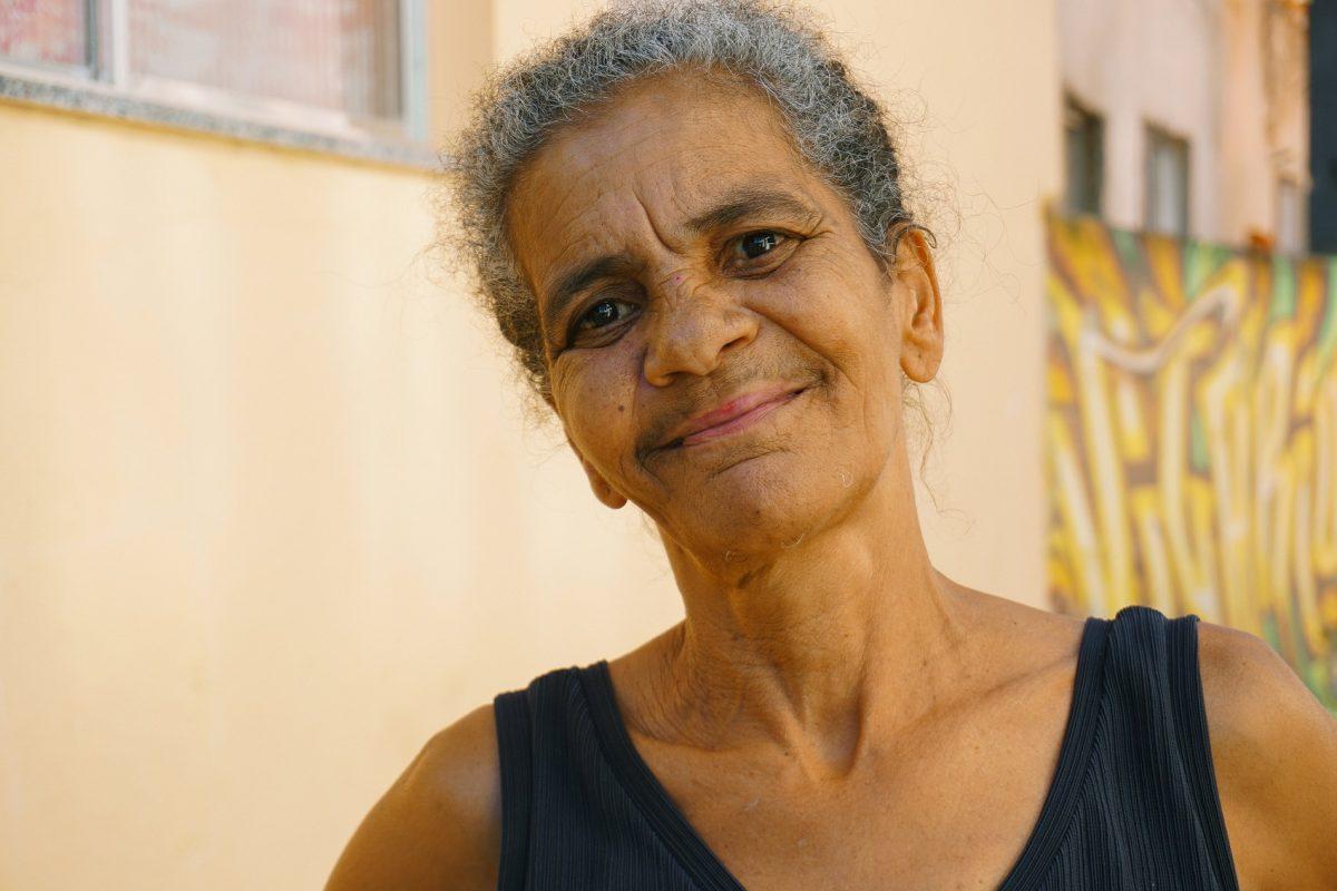 Maria Fátima da Silva, 54 anos, faxineira (Foto: Juliana Nascimento)