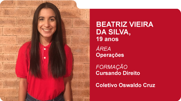 Beatriz Vieira da Silva (Foto: Recursos Humanos Coca-Cola Brasil)