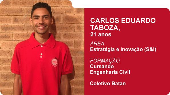 Carlos Eduardo Taboza (Foto: Recursos Humanos Coca-Cola Brasil)