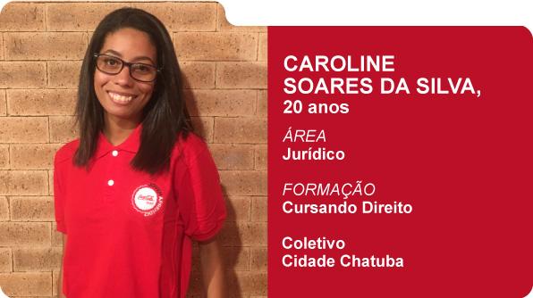 Carolina Soares da Silva (Foto: Recursos Humanos Coca-Cola Brasil)