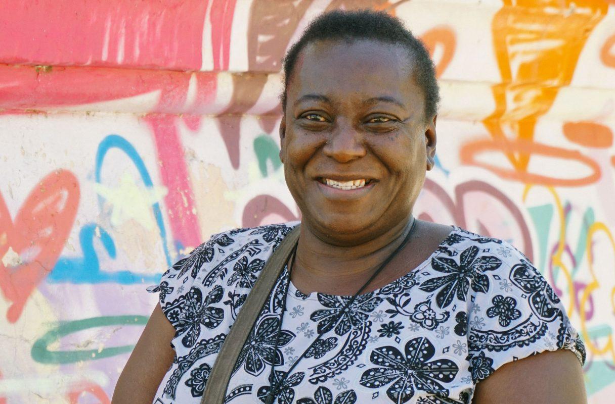 Janice Alves, 45 anos, cozinheira (Foto: Juliana Nascimento)