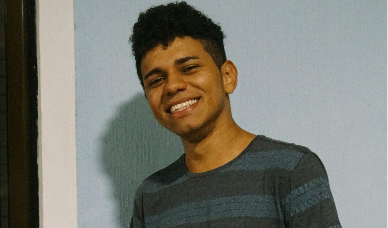 Wanderson da Silva, 21 anos, estudante de psicologia (Foto: Juliana Nascimento)