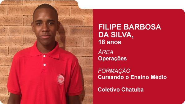 Filipe Barbosa da Silva (Foto: Recursos Humanos Coca-Cola Brasil)