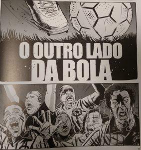 Abertura do livro: retrato da atualidade do nosso futebol. Reprodução