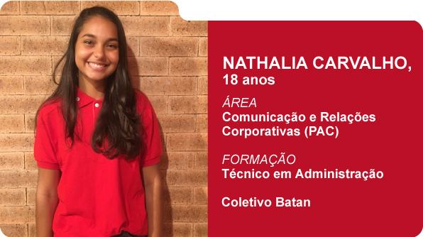 Nathalia Carvalho (Foto: Recursos Humanos Coca-Cola Brasil)