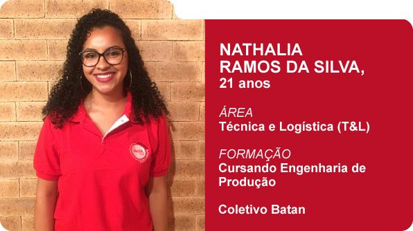 Nathalia Ramos da Silva (Foto: Recursos Humanos Coca-Cola Brasil)