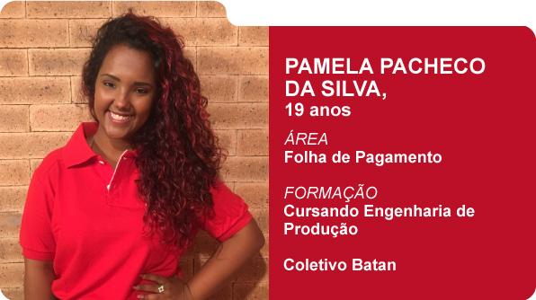 Pamela Pacheco da Silva (Foto: Recursos Humanos Coca-Cola Brasil)