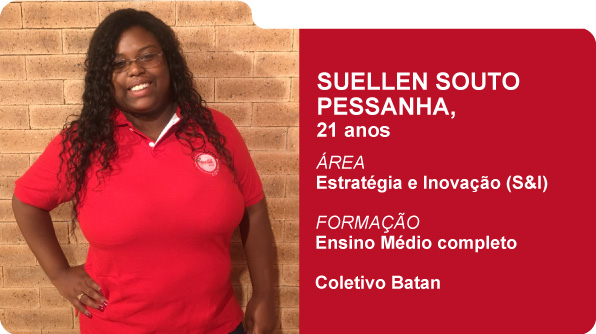 Suellen Souto Pessanha (Foto: Recursos Humanos Coca-Cola Brasil)