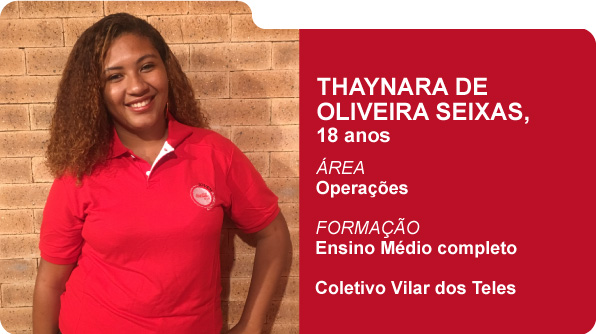 Thaynara de Oliveira Seixas (Foto: Recursos Humanos Coca-Cola Brasil)