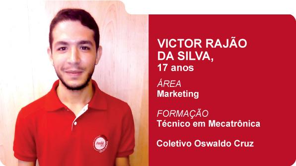 Victor Rajão da Silva (Foto: Recursos Humanos Coca-Cola Brasil)
