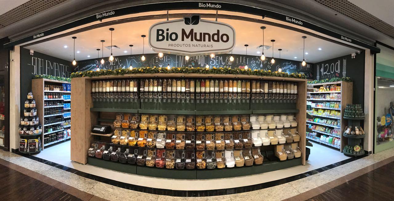 As lojas Bio Mundo têm mais de 600 variedades de produtos a granel (Foto: Divulgação)