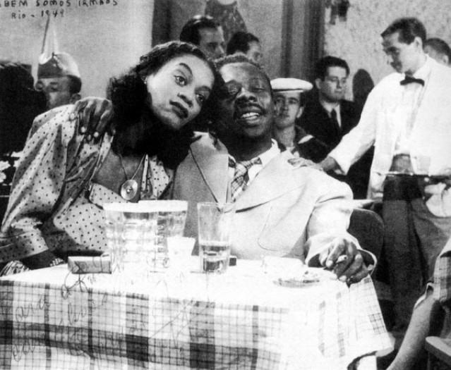 Ruth de Souza e Grande Otelo no filme !Também somos irmãos!, de 1949: pouco avanço em diversidade (Reprodução)