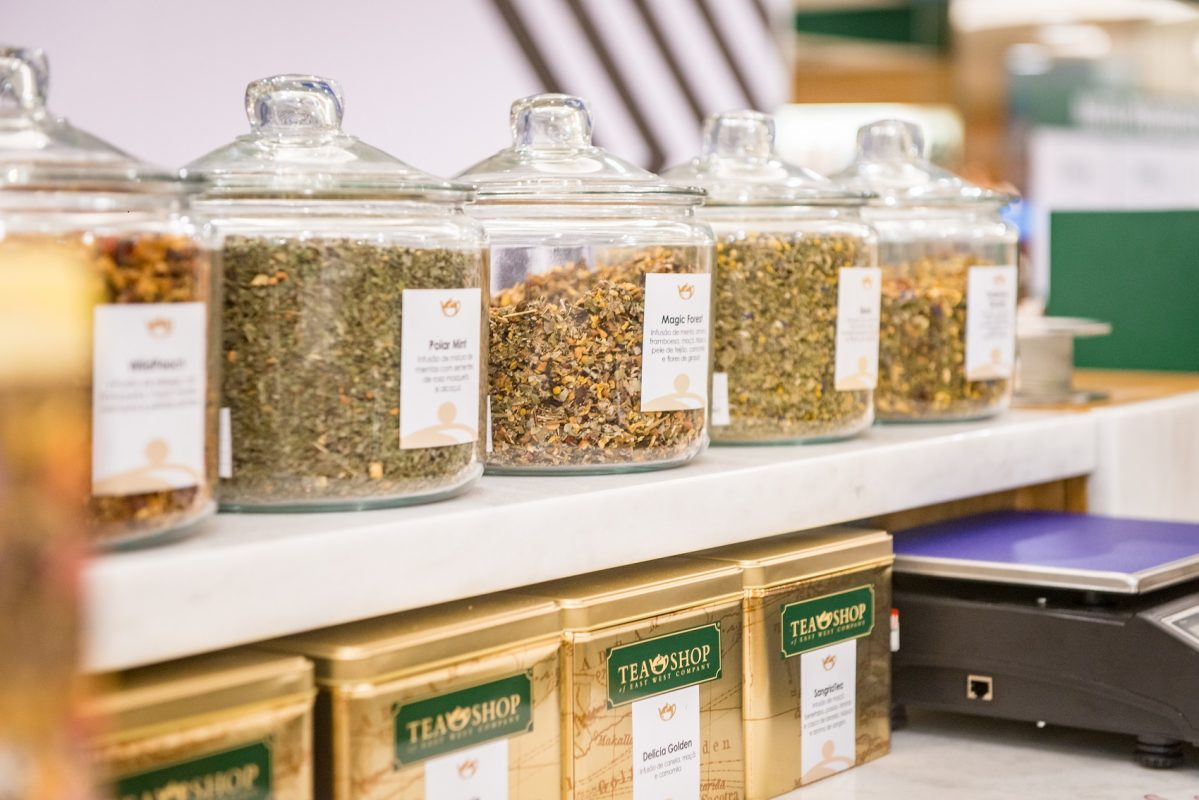 Tea shop: chá a granel (Foto: Divulgação)