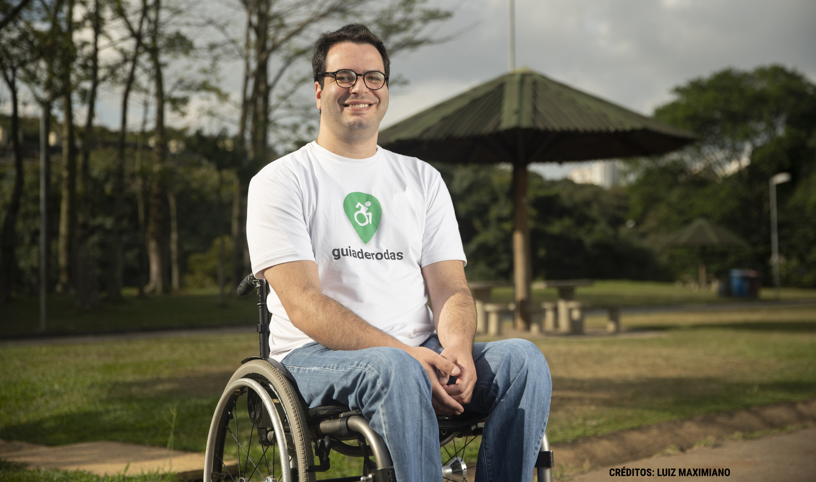Criador do Guia de Rodas, Bruno Mahfuz conta que muitos dos avaliadores não são cadeirantes (Foto divulgação)