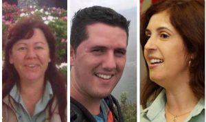 Gislaine, Djener e Lecilda: vítimas da tragédia de Brumadinho (Fotos: arquivos pessoais)
