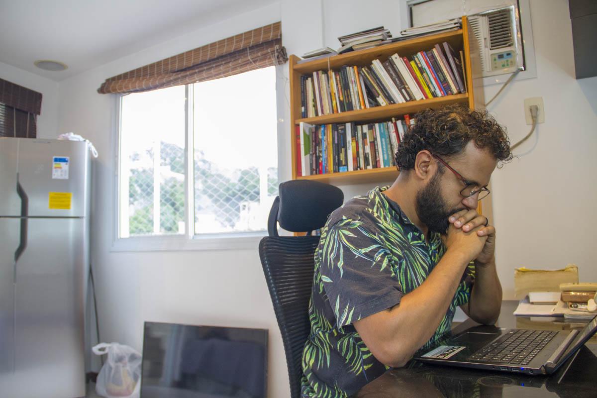 Pastor Henrique Vieira: cruzada progressista contra o conservadorismo neopentecostal. Foto de Paulo Marcos de Mendonça Lima