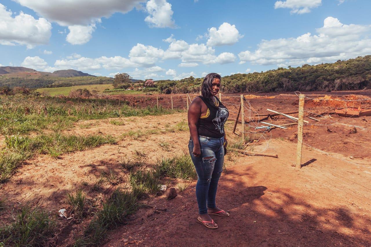 Soraya faz parte de uma das 10 famílias que trabalhavam na horta de Tunico, em Parque da Cachoeira, distrito de Brumadinho. (Foto: Andre Mantelli)