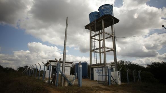 A Central já beneficiou 16 mil famílias rurais com os sistemas de tratamento de água. O de Sapucaia atende 420 famílias (Crédito: Fábio Seixo)