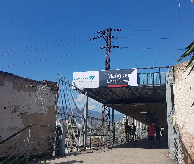 Entrada da antiga Estação Primeira - hoje a quarta do ramal Deodoro (Foto: Oscar Valporto)