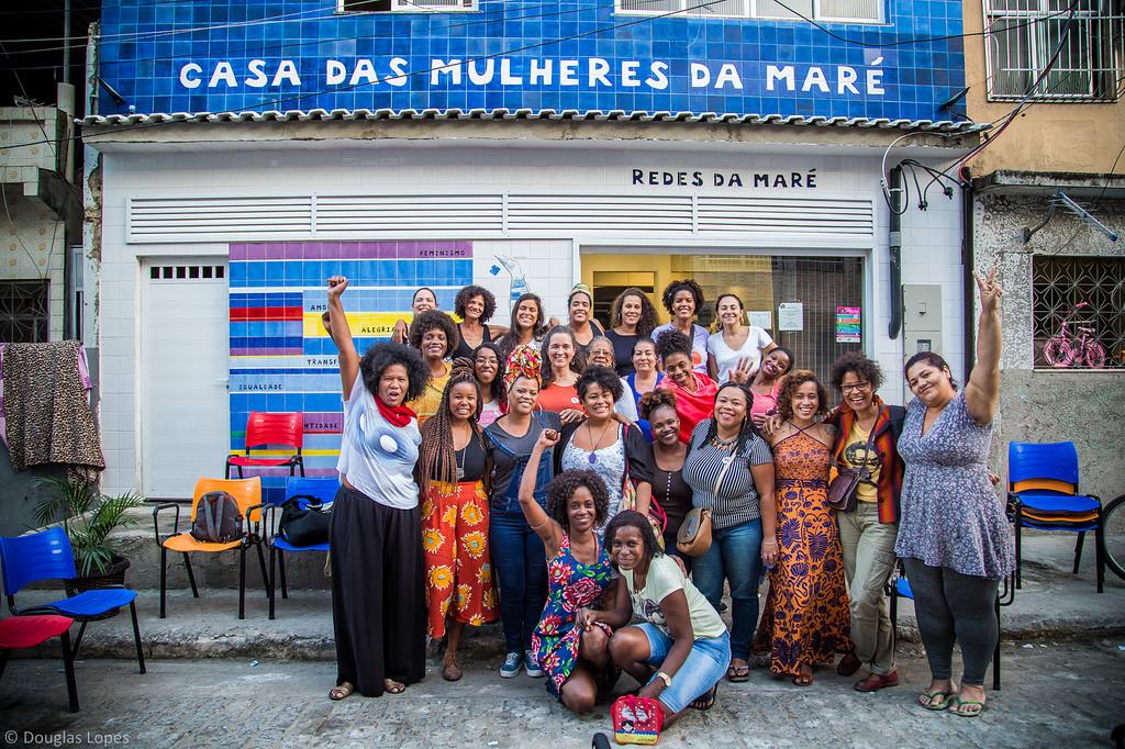 Casa das Mulheres: espaço voltado para elas na Maré / Foto: Douglas Lopes / Divulgação