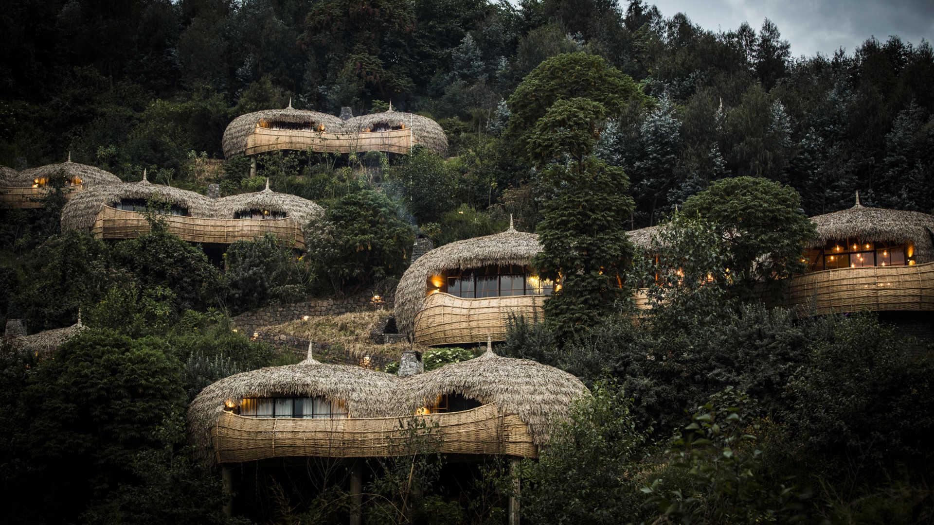 O Bisate Lodge: ecoturismo de luxo que contribui para o reflorestamento e usa energia solar (Foto divulgação)