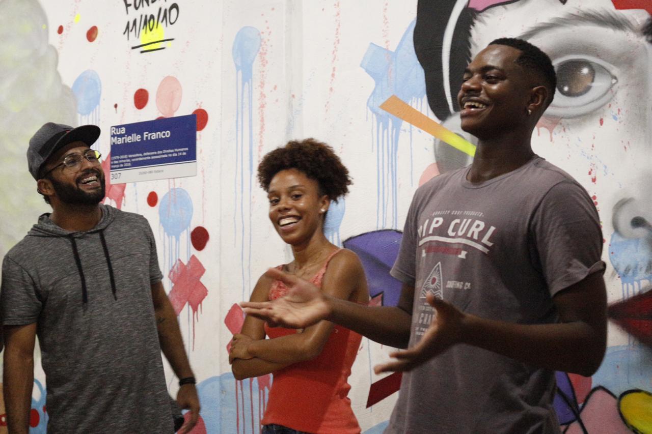 ONG Arteiros, da Cidade de Deus. Foto de Divulgação