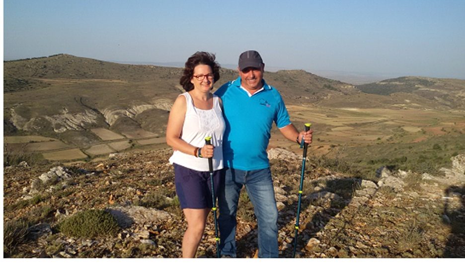 O casal Isabel e Cristóbal lamenta o completo esvaziamento dos seus povoados. Foto Arquivo Pessoal