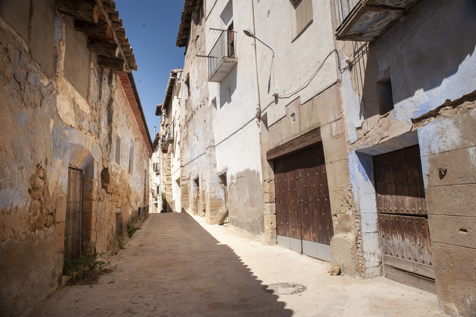 Privilegiado, o pueblo histórico de La Fresneda ainda tem cerca de 500 habitantes. Foto Rosane Marinho
