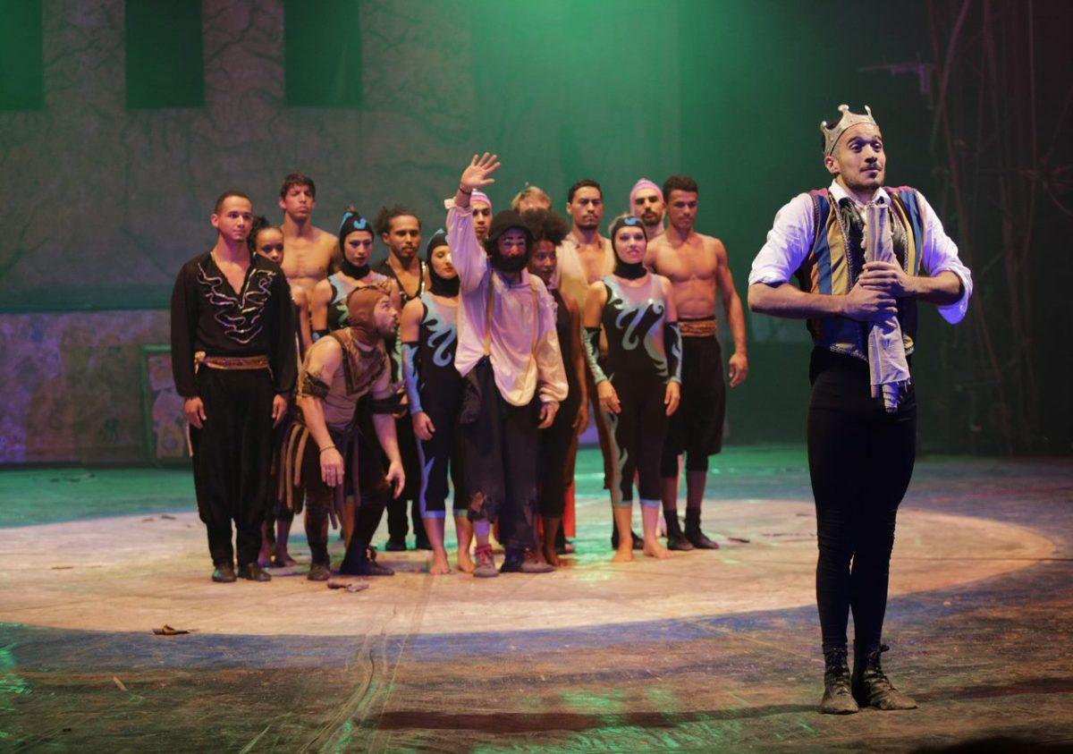 Espetáculo da UniCirco na Quinta da Boa Vista: muitos ex-alunos tornaram-se profissionais e garantem que dá para viver de circo (Foto de Renee Rocha)