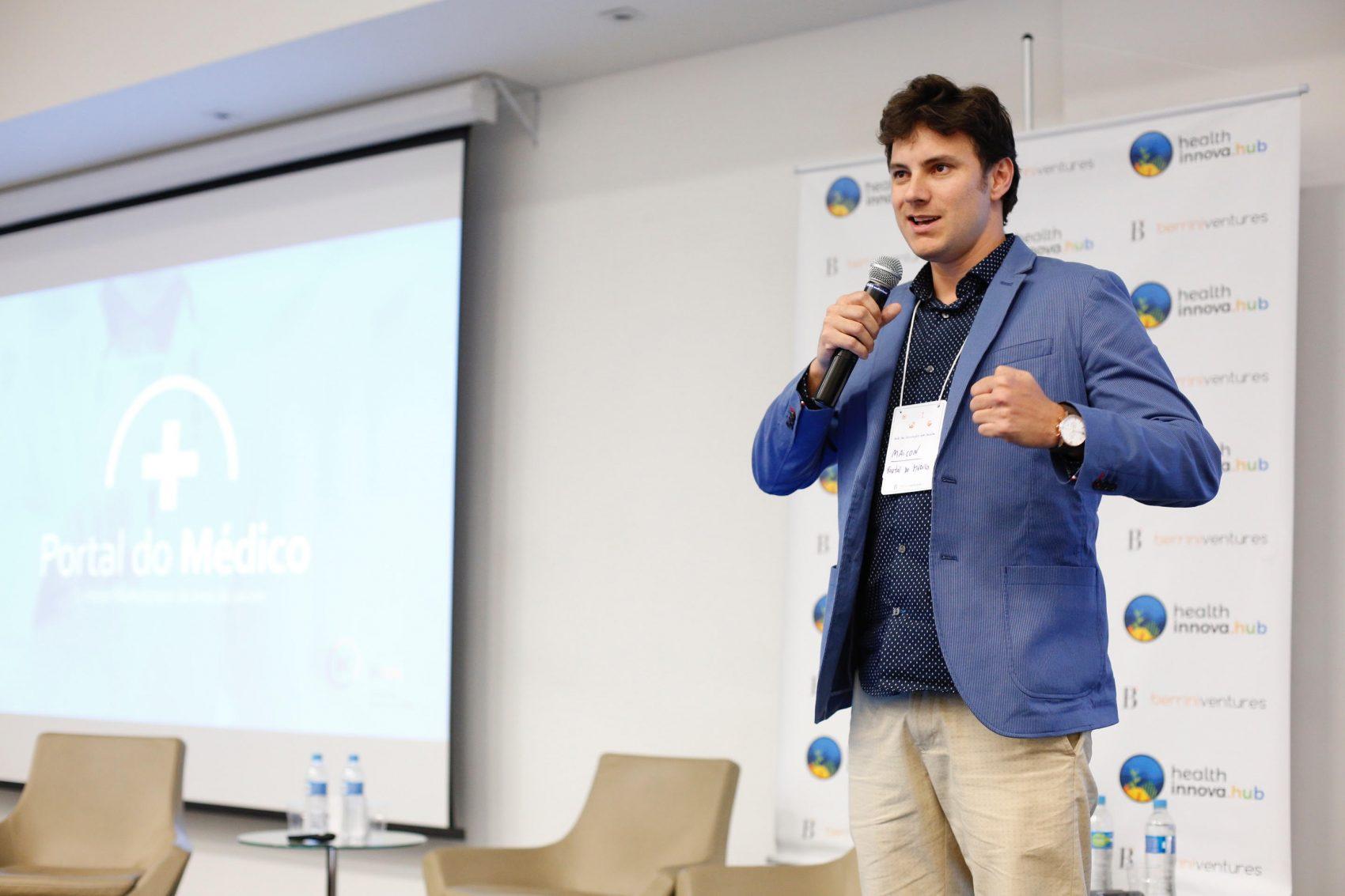 Maicon Alves criou o Portal do Médico com 28 anos: plataforma tem hoje mais de 70 mil produtos e 45 mil clientes (Foto: Divulgação)