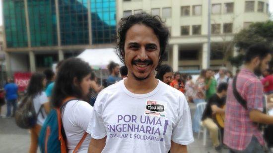 Flavío Chedid: rede para estudar energia solar, empreendimento produtivo e tecnologia social (Foto: Carolina Moura)