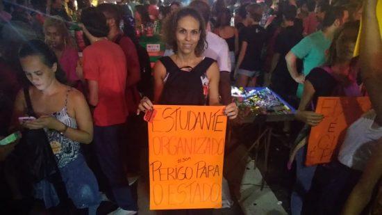 Flavia Carvalho, especialista em Fisioterapia em Oncologia no INCA: 'governo não tem projeto' (Foto; Barbara Lopes)