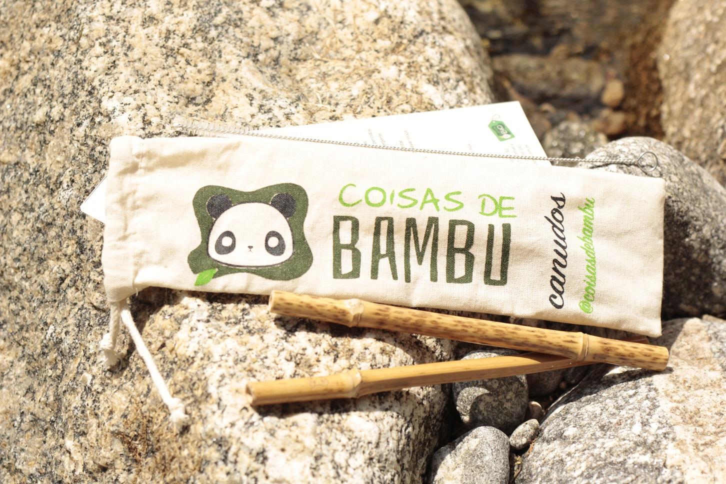 Os canudos de bambu são feitos artesanalmente e têm um custo mais elevado. Foto Divulgação