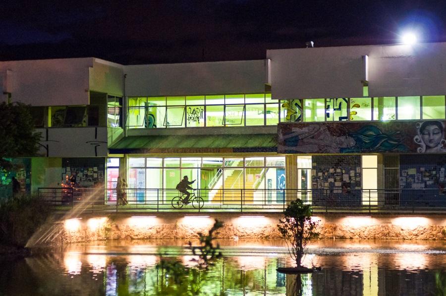 Centro de convivência da Federal de Santa Catarina. Foto Henrique Almeida/Divulgação