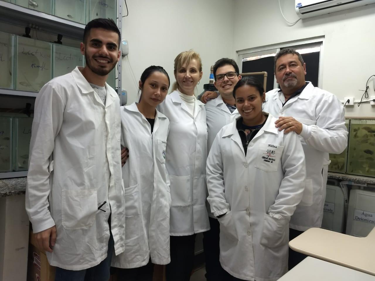 Grupo de pesquisa da Universidade Federal da Grande Dourados: líquido à base de resíduos de casca da castanha para matar larvas do aedes (Foto: Divulgação)