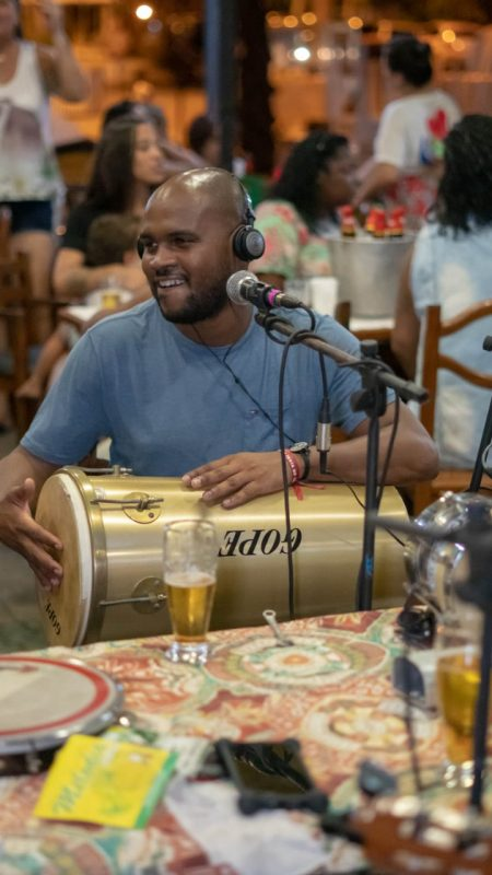 Wanderson Luna, da Rede Carioca das Rodas de Samba: grupo escolhido pelo BNDES para participar de programa de apoio a startups (Foto Divulgação)