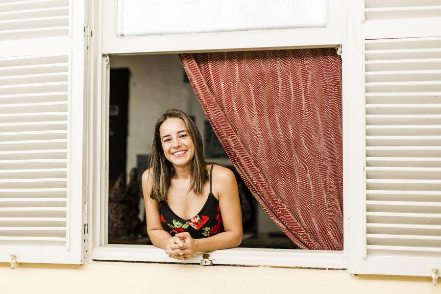Natália Pietzsch, 30 anos, engenheira ambiental e proprietária de duas empresas de reciclagem e compostagem: empreendedora com propósito (Foto: Divulgação)