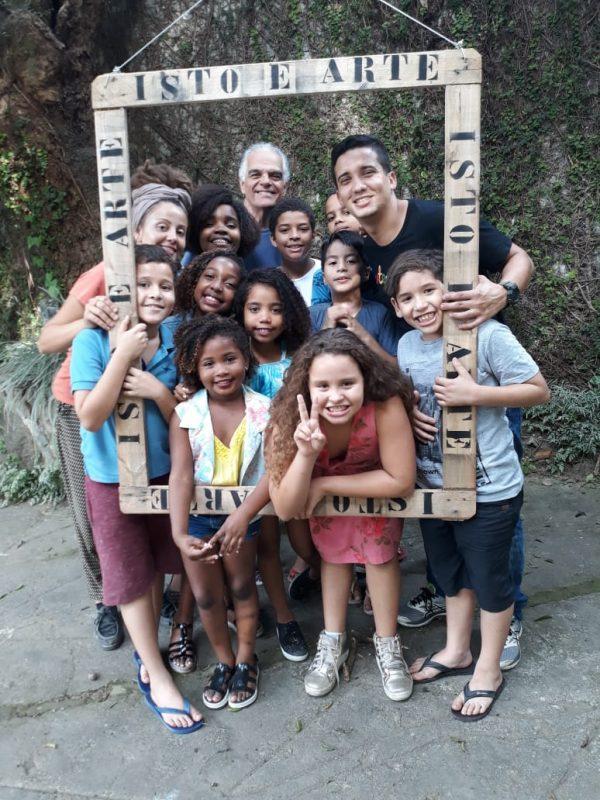 ONG Arte-Educação. Foto de Divulgação