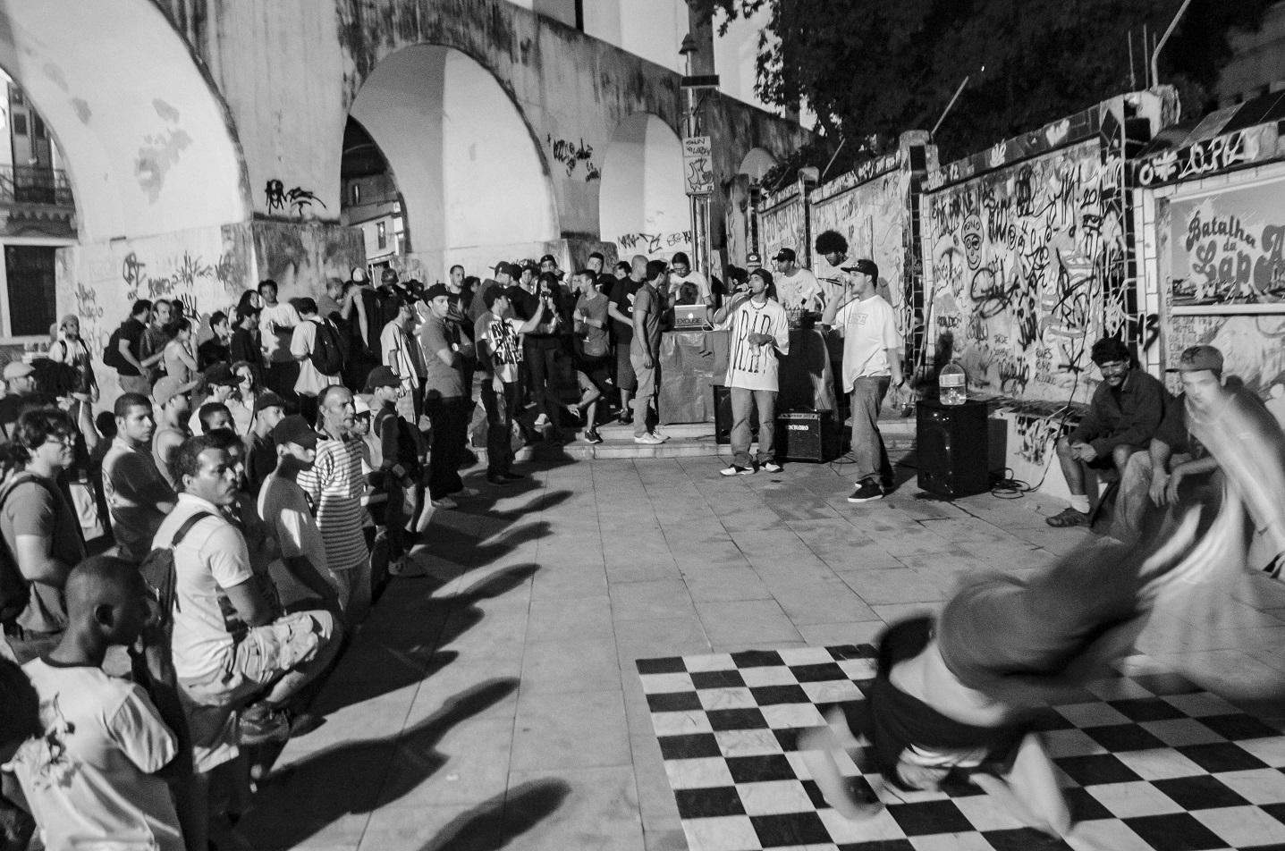 Batalha de Mcs na Lapa. Estado tem hoje mais de 150 rodas culturais. Foto Thiago Ripper