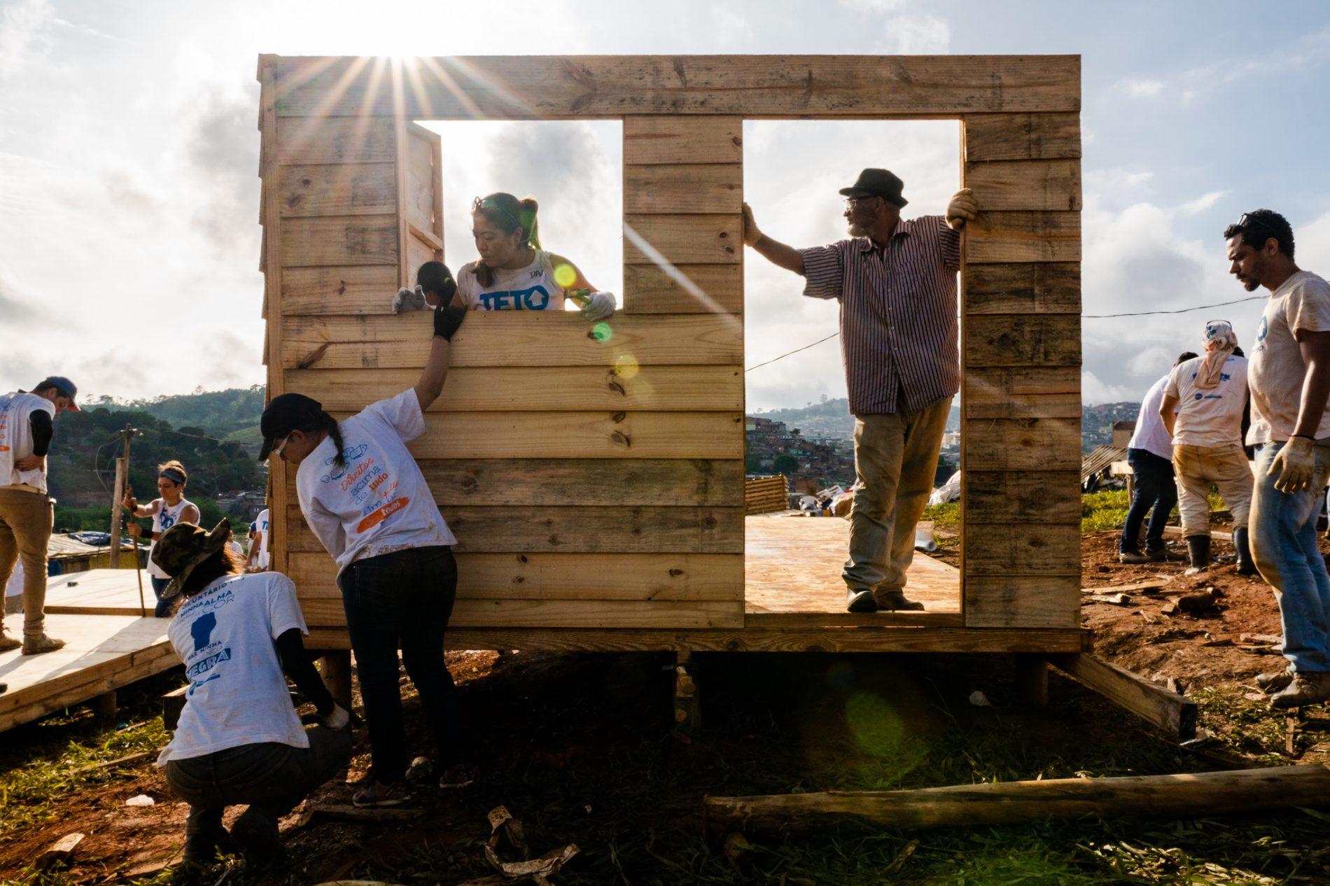 ONG TETO. Foto de divulgação