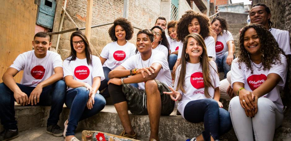 O Coletivo Jovem empodera jovens de 16 a 25 anos, moradores de comunidades urbanas de baixa renda (Foto: Luciano da Trindade)