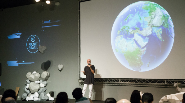 O Picnic foi criado na Holanda em 2006. No Brasil está em sua segunda edição e teve a Coca-Cola Brasil foi patrocinadora do evento (Foto: Zô Guimarães)